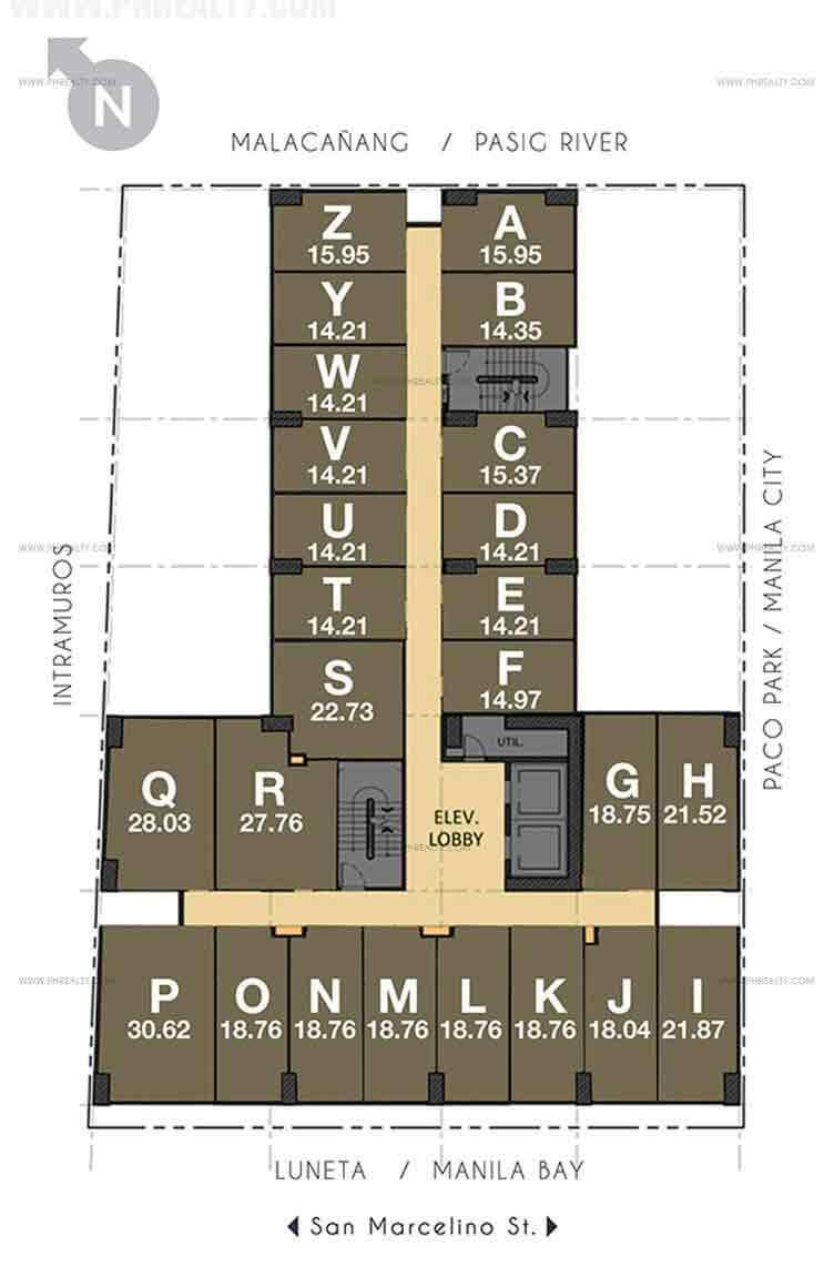 Space San Marcelino - Floor Plan