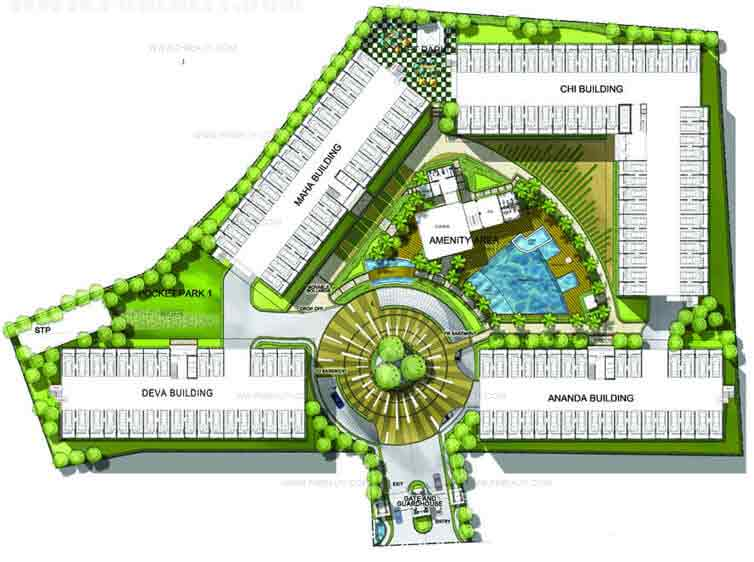 Asiana Oasis - Building Plans