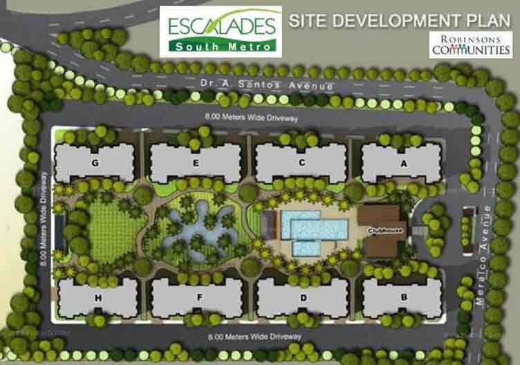 Escalades South Metro - Site Development Plan