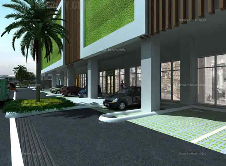 Amaia Skies Cubao - Parking Area