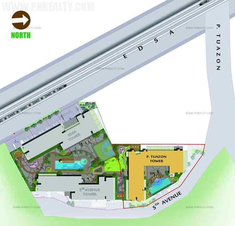 Amaia Skies Cubao - Site Development Plan