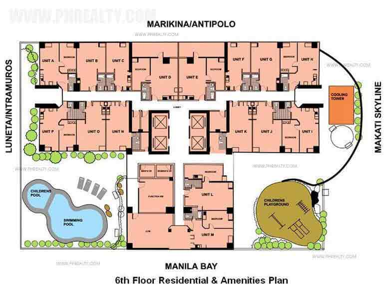 Adriatico Residences - Site Development Plan