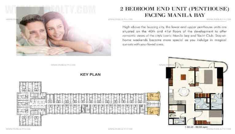 Coast Residences - 2 Bedroom End Unit
