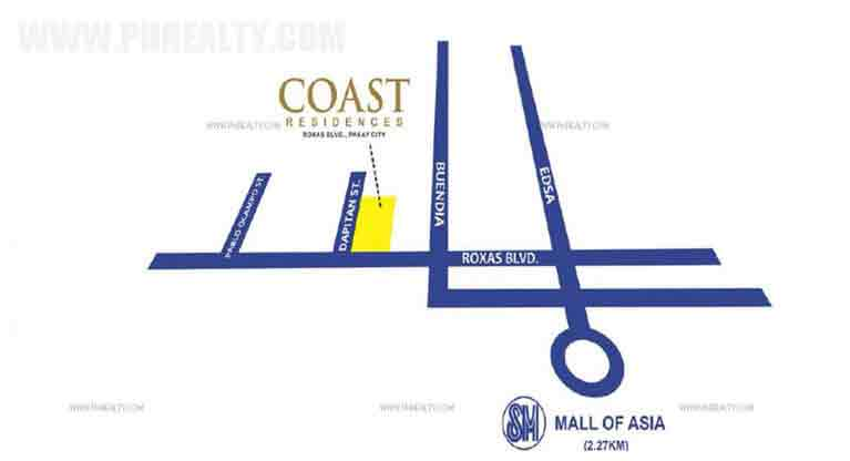 Coast Residences - Location & Vicinity