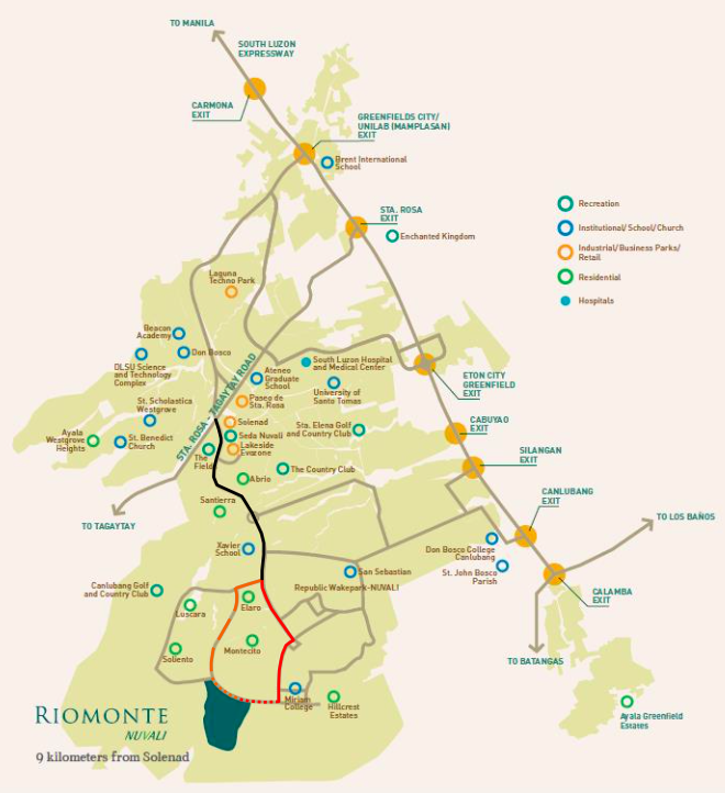Riomonte - Location & Vicinity