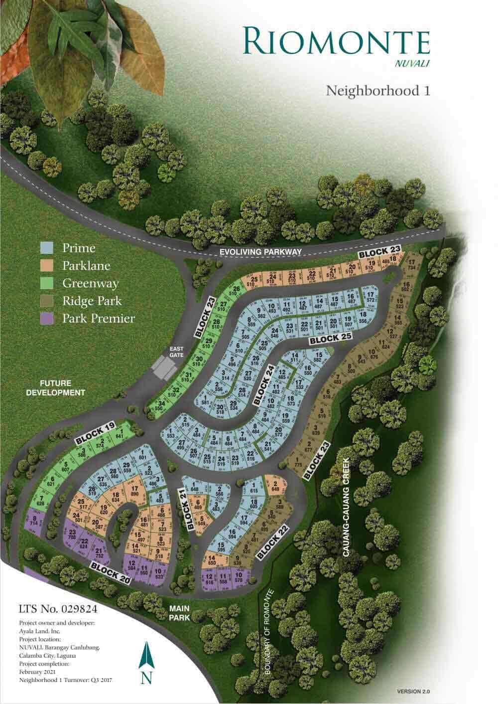 Riomonte - Site Development Plan - Phase 1