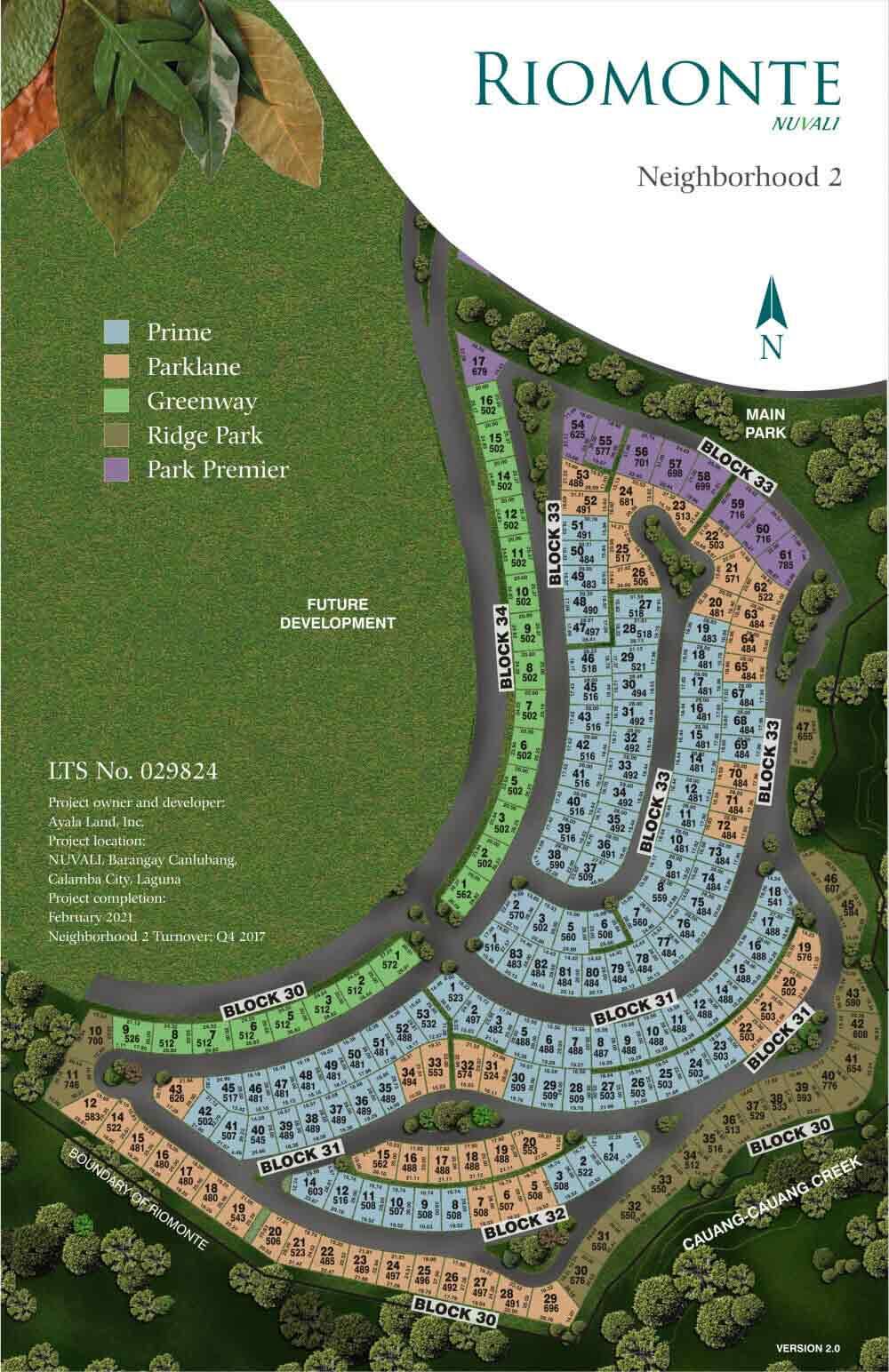Riomonte - Site Development Plan - Phase 2