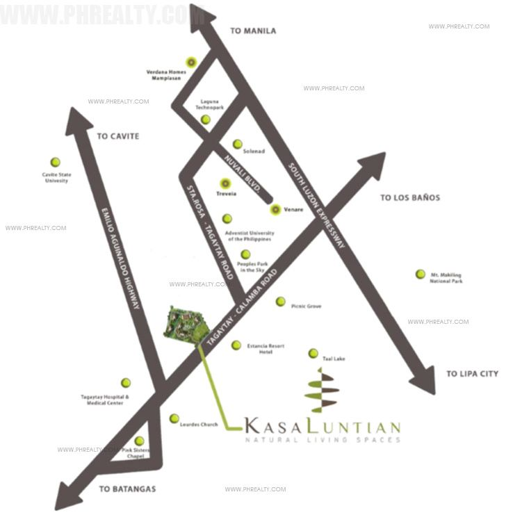 Kasa Luntian - Location Map