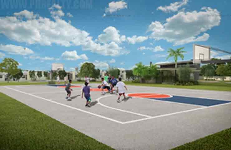 Amaia Scapes Cabuyao - Basketball Court
