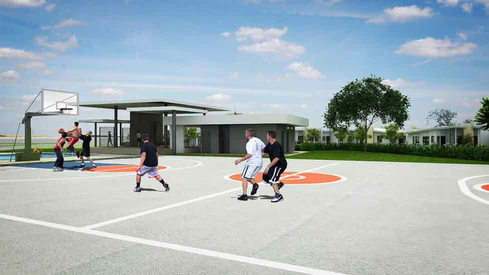 Amaia Scapes Camsur - Basketball Court