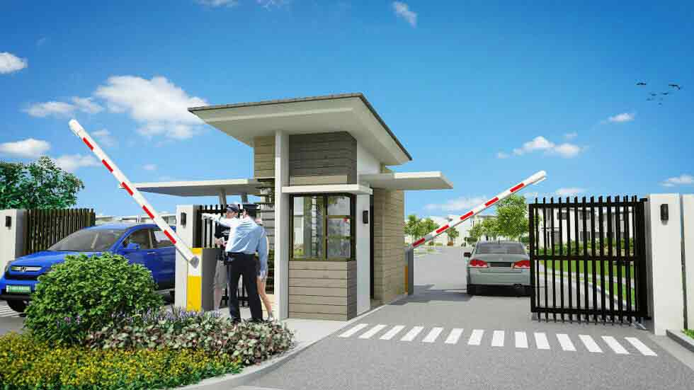 Amaia Scapes Camsur - Gate & Guardhouse