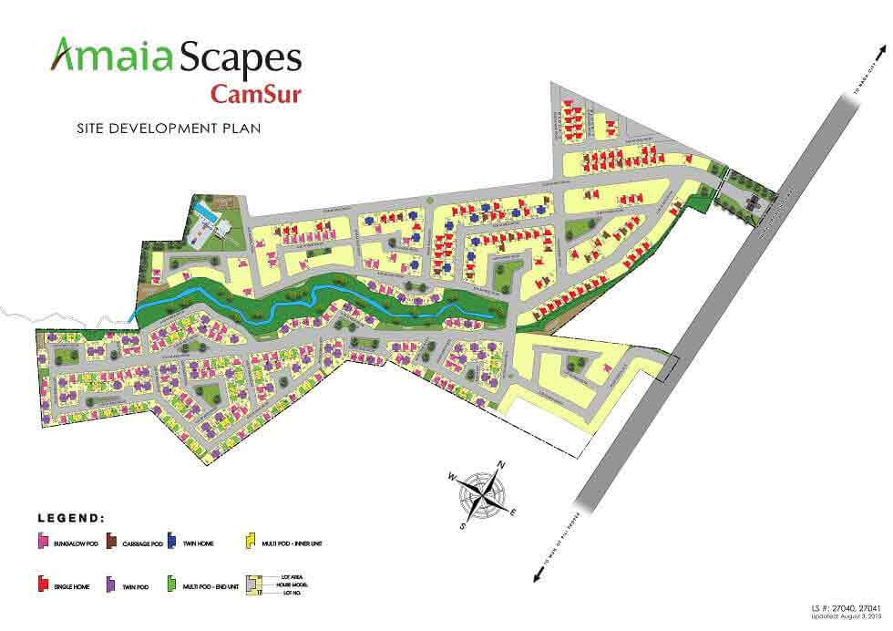 Amaia Scapes Camsur - Site Development Plan