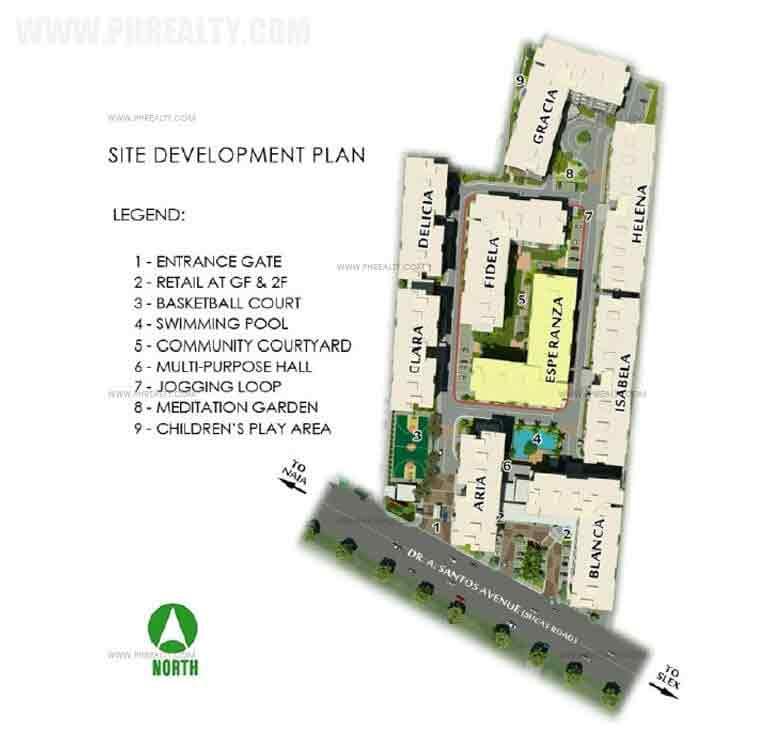 Amaia Steps Sucat - Site Development Plan