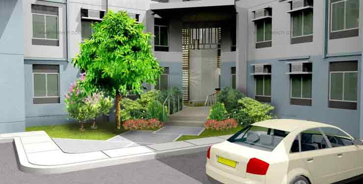 Amaia Steps Sucat - Building Entrance