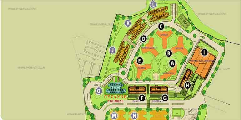 Vista Lakefronts - Site Development Plan