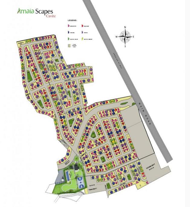 Amaia Scapes Cavite - Site Development Plan