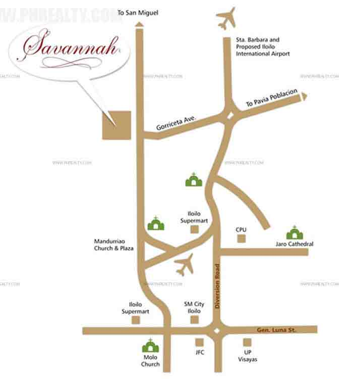 Savannah Glades - Location & Vicinity