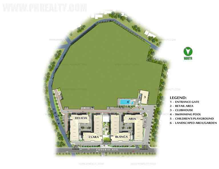 Amaia Steps Pasig - Site Development Plan