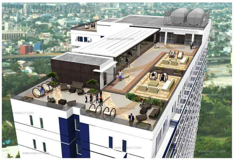 Mezza ll Residences - Roof Top