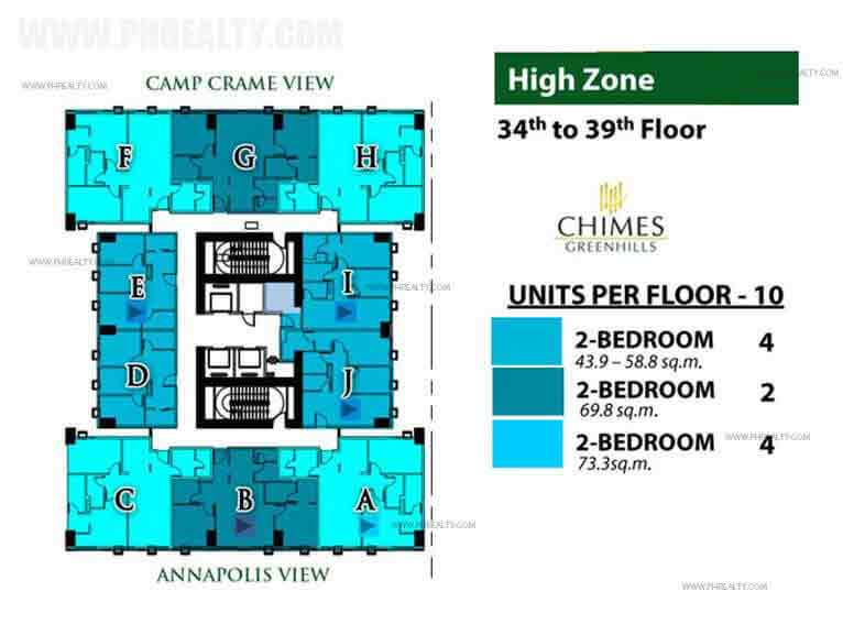 Chimes Greenhills - High Zone