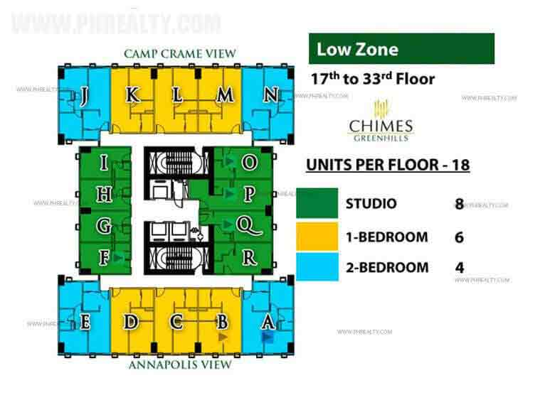 Chimes Greenhills - Low Zone
