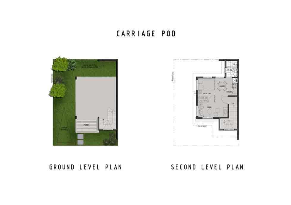 Amaia Scapes Laguna - Suggested Carriage Pod Floor Layout