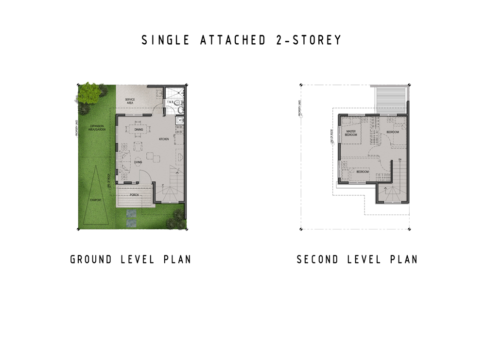 Amaia Scapes Laguna - Suggested Single Home Floor Layout