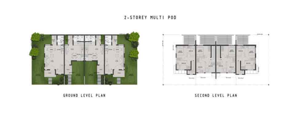 Amaia Scapes Laguna - Suggested Town Homes Floor Layout