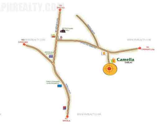 Camella Tarlac - Location & Vicinity