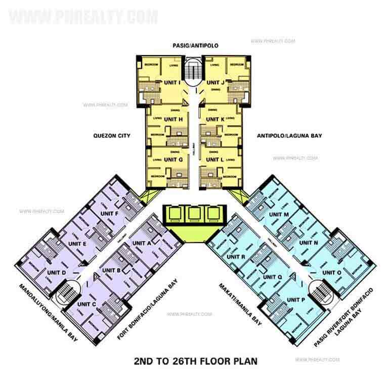 One Gateway Place - Floor Plan
