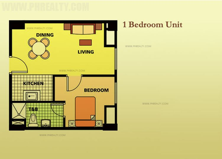 One Gateway Place - One Bedroom