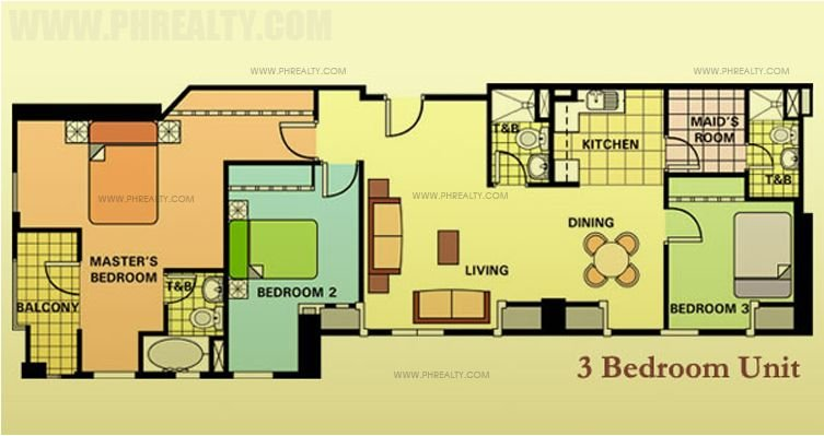 One Gateway Place - Three Bedroom