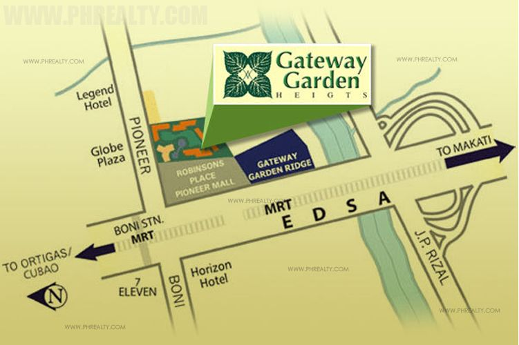 Gateway Garden Heights - Location & Vicinity
