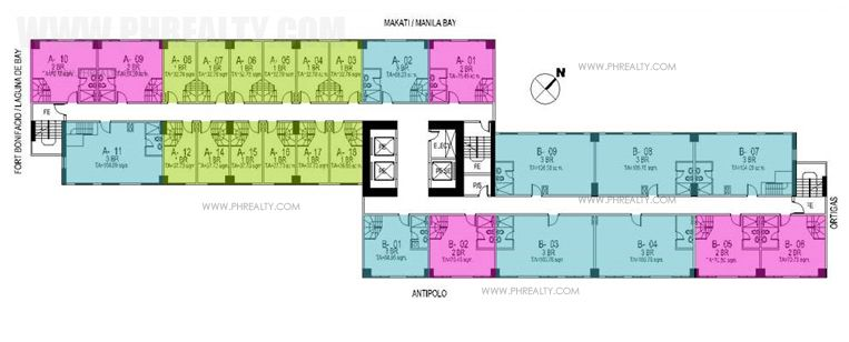 Gateway Garden Heights - Typical Floor Plan