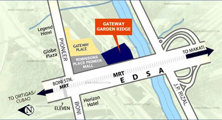 Gateway Garden Ridge - Location & Vicinity