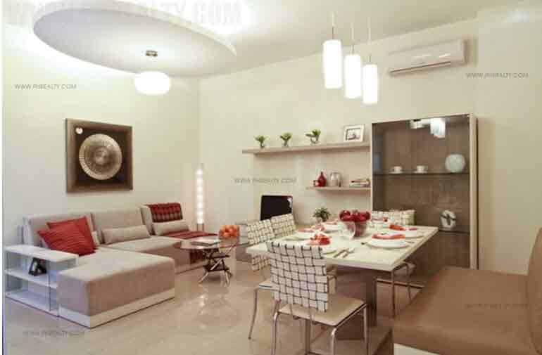 Chateau Elysee Residences - Living and Dining Area