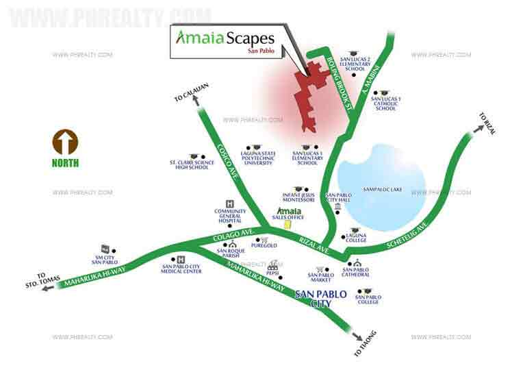 Amaia Scapes San Pablo - Location & Vicinity