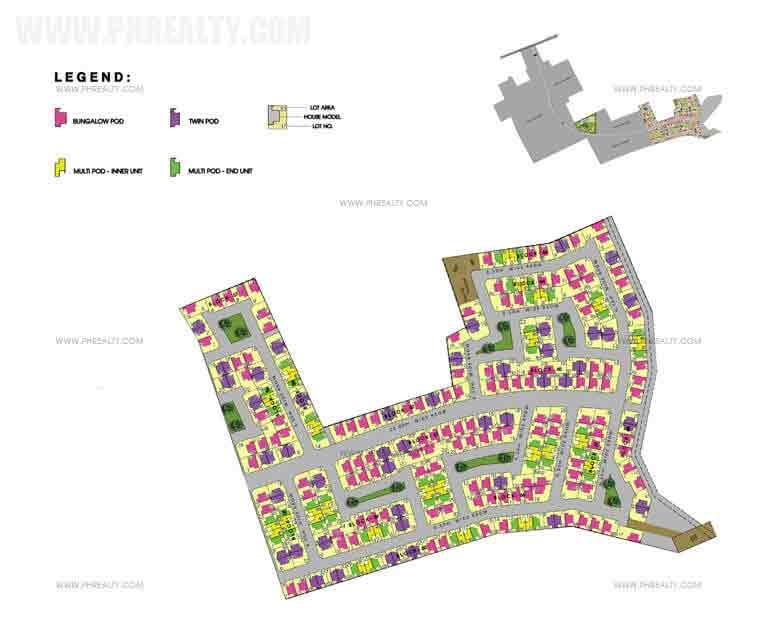 Amaia Scapes San Pablo - Site Development Plan