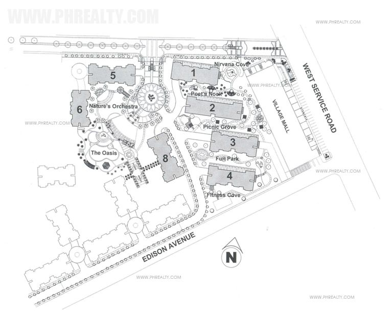Woodsville Viverde Mansion  - Site Development Plan