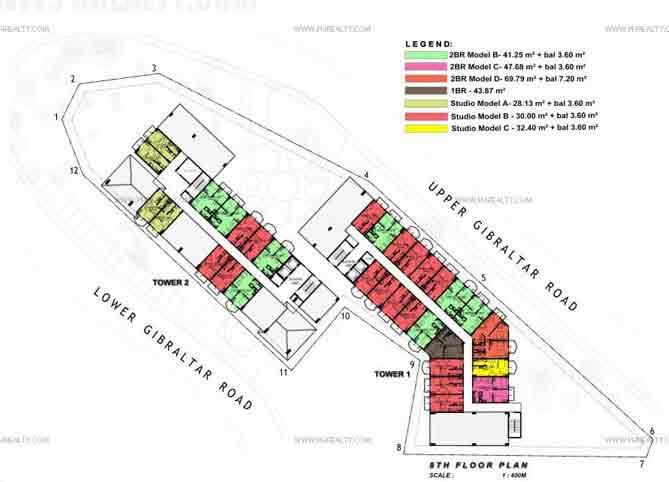 88 Gibraltar - Master Plans