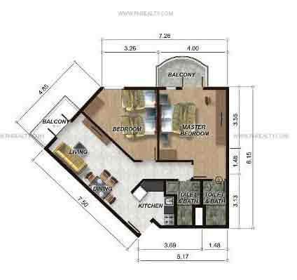 88 Gibraltar - 2 Bedroom Unit Model D