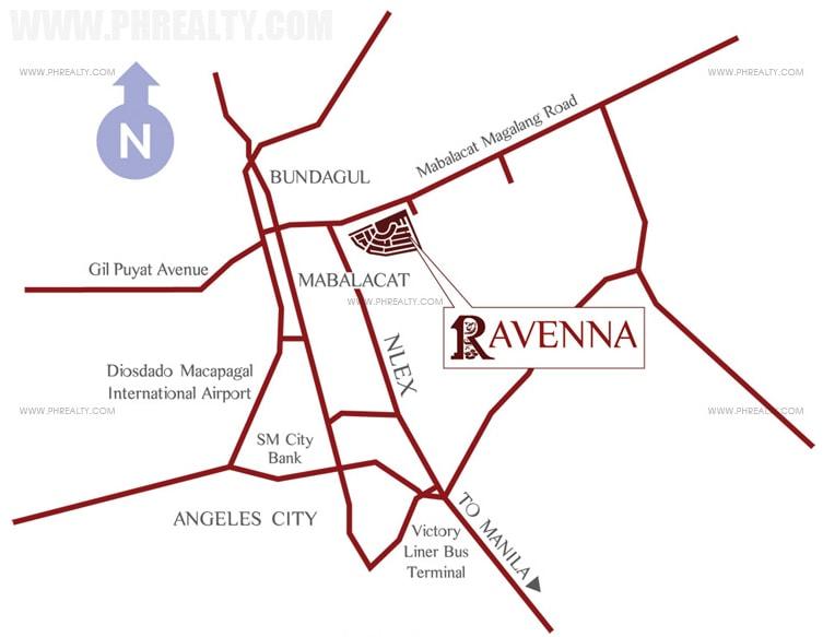 Ravenna - Location & Vicinity