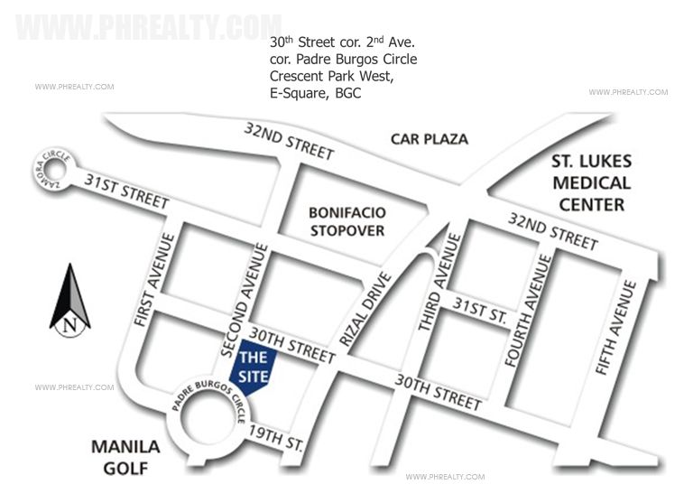 The Fort Residences - Location