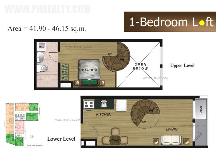 The Fort Residences - One Bedroom Loft