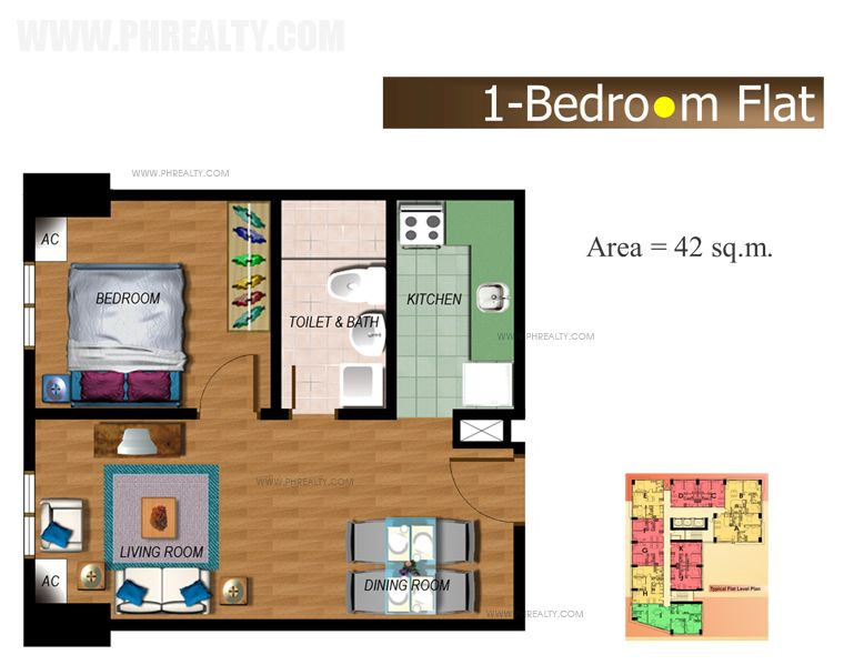 The Fort Residences - One Bedroom