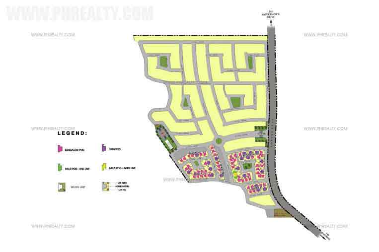 Amaia Scapes Trece Matires - Site Development Plan