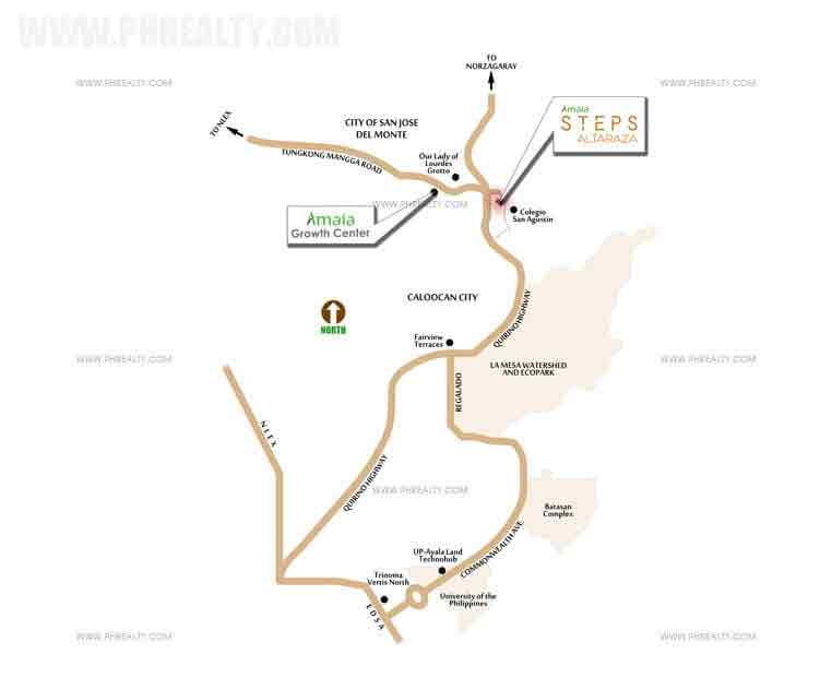Amaia Steps Altaraza - Location & Vicinity