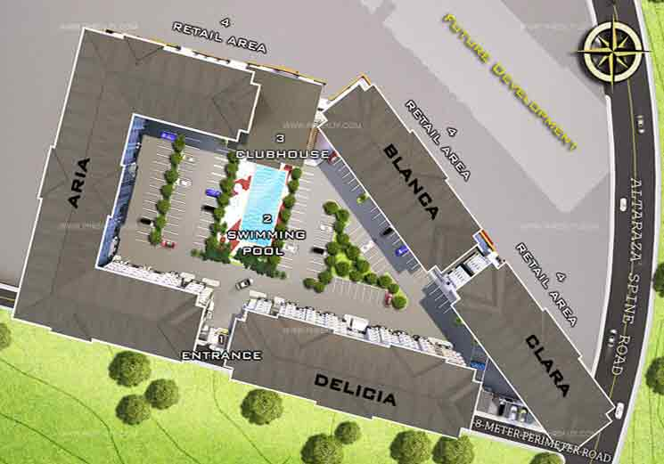 Amaia Steps Altaraza - Site Development Plan