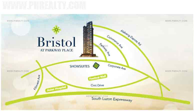 Bristol Parkway Place - Location & Vicinity