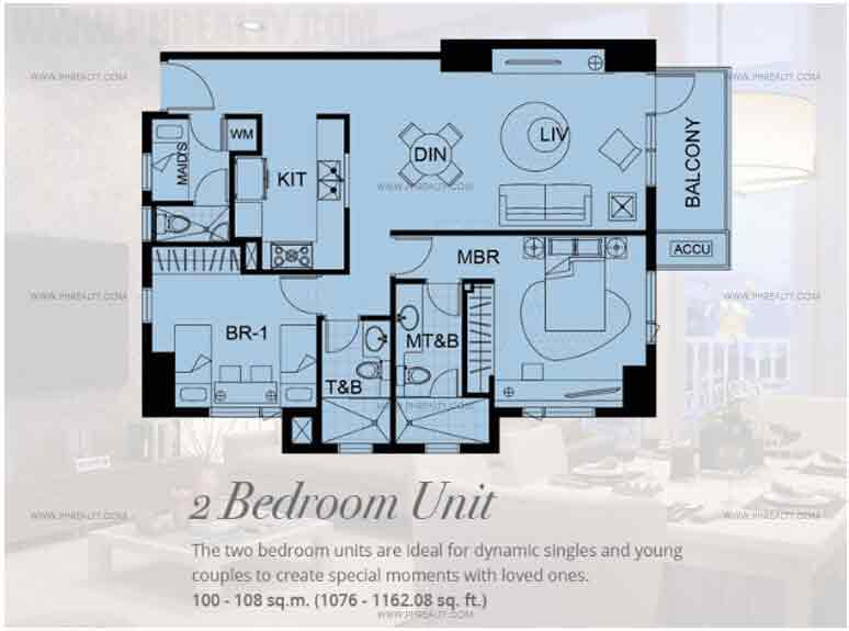 Bristol Parkway Place - 2 Bedroom Unit